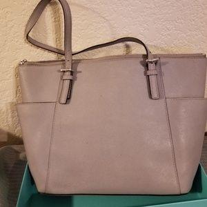 MK gray purse